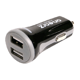 2 X USB CAR CHARGER