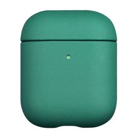 Green leather case for AirPods 1 & 2