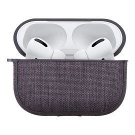 Gray fabric case for AirPods Pro