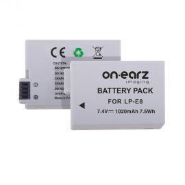 Replacement battery for CANON LP-E8