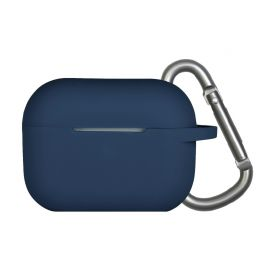 Blue silicone case for AirPods Pro
