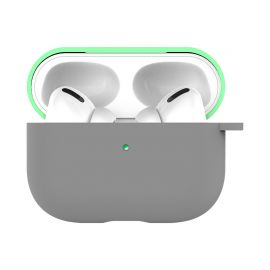 Gray mint silicone case for AirPods Pro