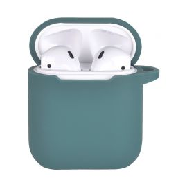 Green Silicone case for AirPods 1 & 2