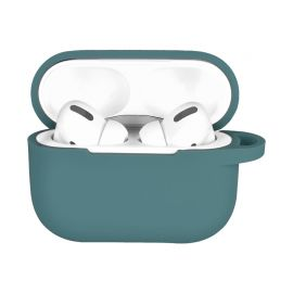 Green silicone case for AirPods Pro