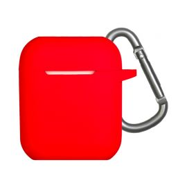 Red Silicone case for AirPods 1 & 2