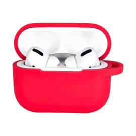 Red silicone case for AirPods Pro