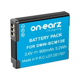 Replacement battery for PANASONIC DMW-BCM13E