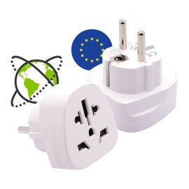 Travel adapter World to Europe